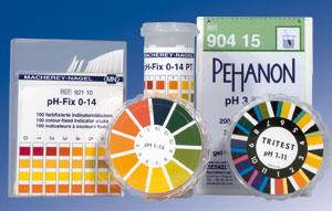pH-Testpapiere